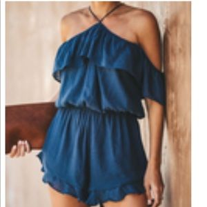 Time of My Life Romper- Vici